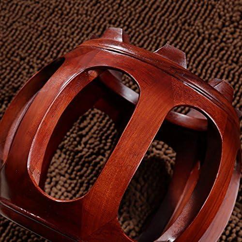XUEPING スツールソリッドウッドスツールレストランスツールグエンチェアスツールモダンファッションシンプルラウンド ( サイズ さいず : B )