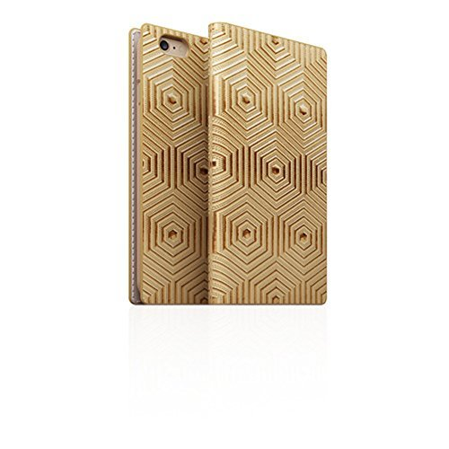 Click to buy SLG Design D4 Edition Metal Foil Leather Case for Iphone 6/6s Plus (Gold) - From only $139