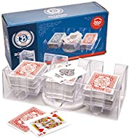 Brybelly Elite 9-Deck Rotating Card Tray - Improved Smooth 360 Degree Swivel - Convenient Playing Card Holder