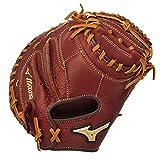 "Mizuno MVP Series GXC58 34"" Adult Baseball Catcher's Mitt - Brickdust (Right-Handed Throw)"