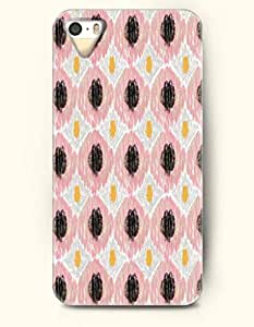 SevenArc Phone Skin Apple iPhone case for iPhone 4 4s -- Pink and Black Diamond Pattern