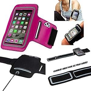 Amahousse-Sport-Brazalete deportivo de neopreno para teléfono carrera a pie de senderismo, resistente a el sudor, velcro ajustable para APPLE IPHONE 4 y 4S, 5, 5S, 5C y 6