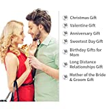 ZJchao 24k Yellow Gold Foil Collectible Rose Flower Unique Gift for Girlfriend Mom Wife Artificial Flower for Womens