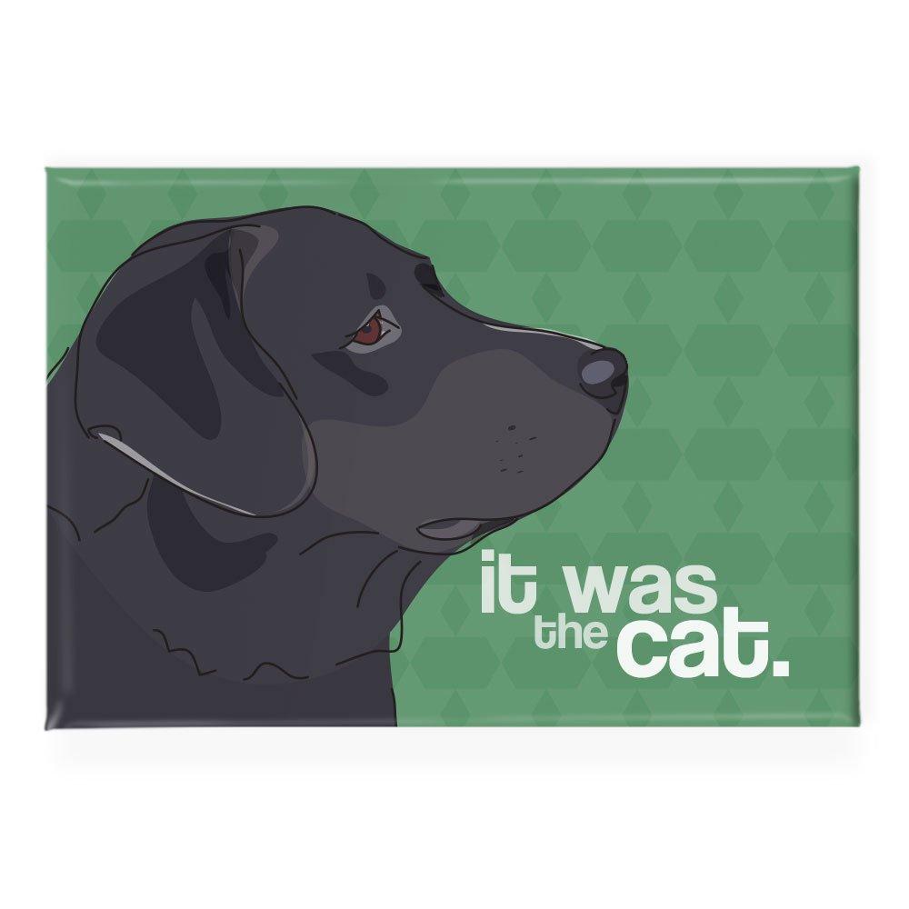Pop de Perro Negro Laboratorio Dice Que fue el Gato de Labrador ...