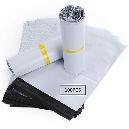HVDHYY Bolsas para Envíos Sobres de Postales Plástico de Genérico Envío por correo Bolsas Polietileno Autoadhesivas Embalaje Sobres para Postales ...