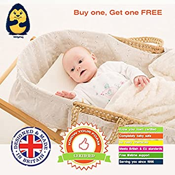 two pack   the wedgehog   moses basket reflux wedge  28cm    also perfect two pack   the wedgehog   moses basket reflux wedge  28cm    also      rh   amazon co uk