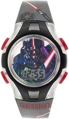 Star Wars Star Wars Classics Darth Vader Flashing Lights LCD Watch