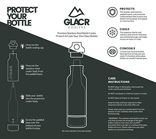 GLACR - Stainless Steel Bottle Cooler