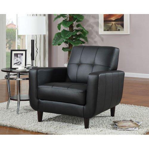 Coaster 900204 Vinyl Accent Chair