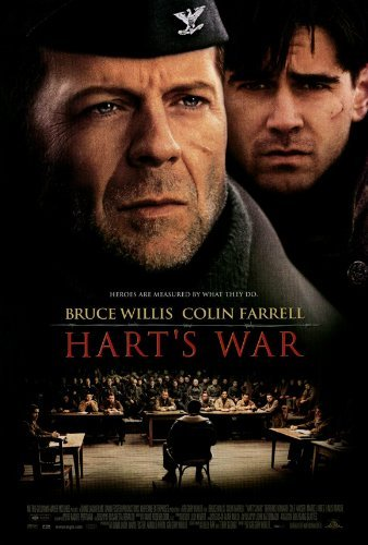 Hart's War Movie Poster (27 x 40 Inches - 69cm x 102cm) (2002) Style B -(Bruce Willis)(Colin Farrell)(Terrence DaShon Howard)(Cole Hauser)(Marcel Iures)(Linus Roache)