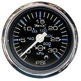 "2"" Water Pressure Gauge Kit, 30 PSI, I/O"
