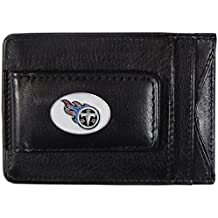 NFL Leather Money Clip Cardholder