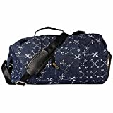 Pulpypapaya Heavy Duty Luggage Bag Duffle Sports TravelBag / Looper Gym Bag