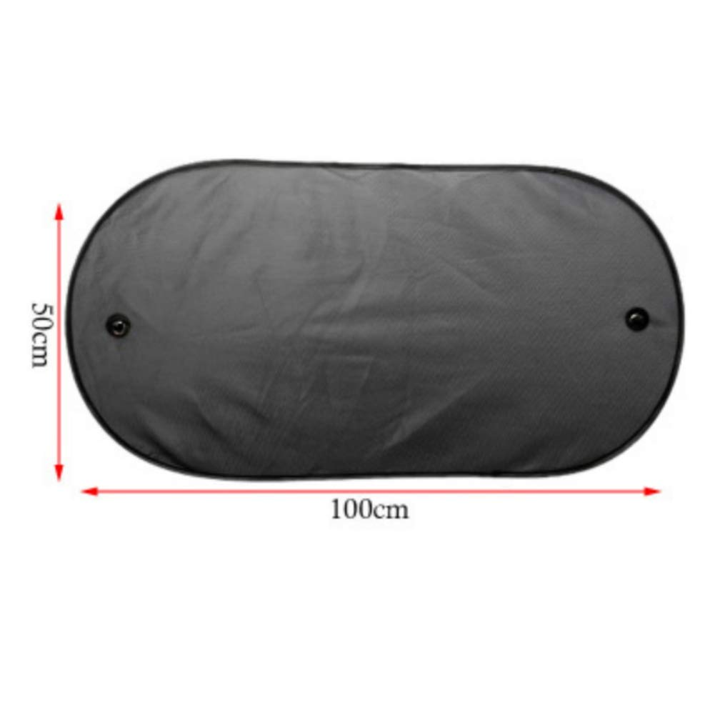 Sizet Car Rear Window Side Sun Shade Cover Visor Shield Screen Mesh Foldable UV Protection with Suction Cup for Children Kids Baby Pet Fit SUV