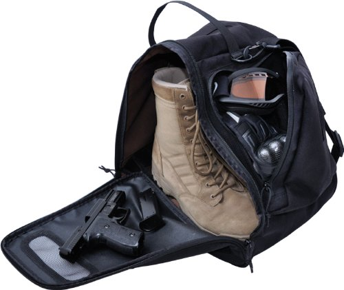 Black Bunker Gear Bag - 9