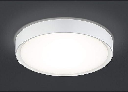 Trio Leuchten Trio 659011887 Clarimo Plafoniera LED 1x18 Watt 33 cm 18 W Titano//Bianco
