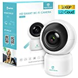 HeimVision Security Camera, 1080P WiFi Home Indoor Camera with Smart Night Vision/2 Way Audio/Motion Detection, Wireless IP Dog Camera for Baby/Pet/Nanny Monitor, HM203 Upgrade Cloud/MicroSD Support