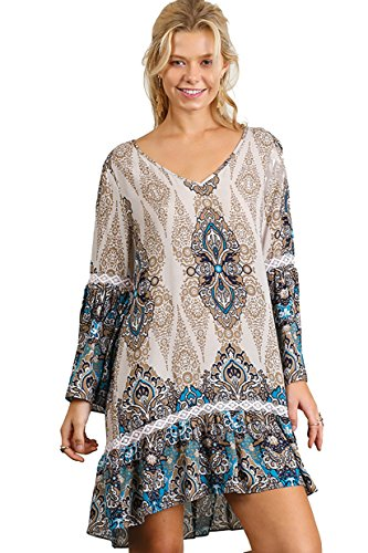Beautiful Bell Sleeve Dress Accents product image