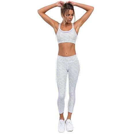 Mujer Yoga Pantalones, sonnena Mujeres High cintura Sport Gimnasia ...