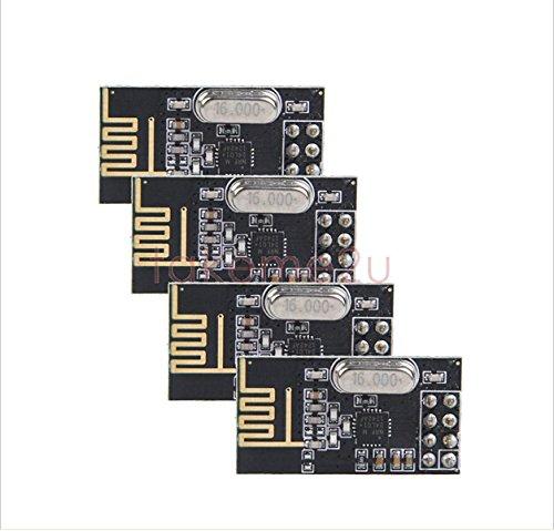 (LILIERS 10Pcs x NRF24L01+ Wireless Module 2.4G Wireless Communication Module Upgrade Module with tracking NO)