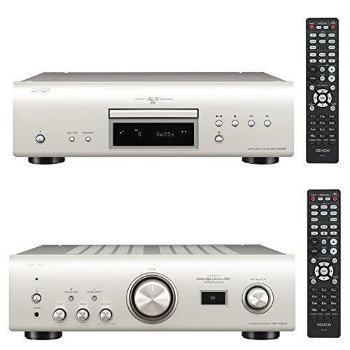 DENON Hi-Fiコンポ ミドルクラスセット シルバー  [DCD-1600NE + PMA-1600NE]   B01MSR3XWT