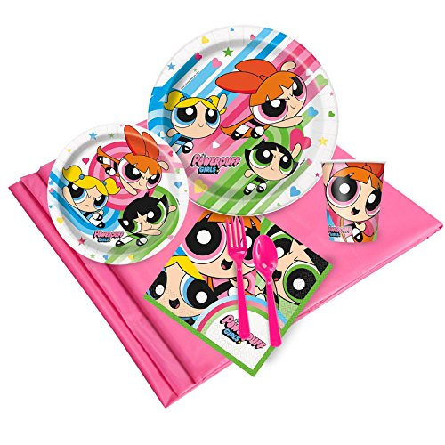 Power Puff Girls 24 Guest Party (Power Puff Girl Costume)