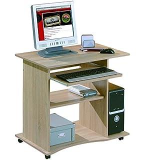 scrivania per computer traditional: amazon.it: elettronica - Scrivania Con Computer