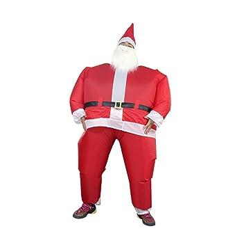 Traje Auto-Inflado De Traje De Santa Claus, Traje De ...