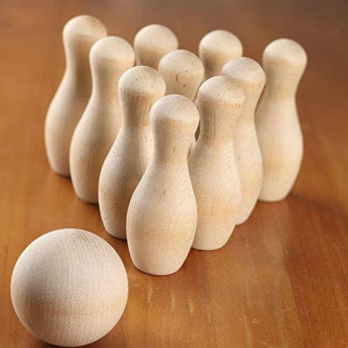 Mini Bowling Pins - 9