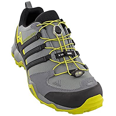 adidas Sport Performance Men's Terrex Swift R Hiking Sneakers, Grey Textile, 6 M