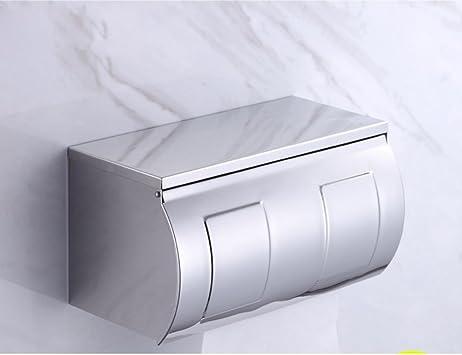 Caja acero inoxidable baño papel higiénico/armazón para papel/Caja de papel/ Caja para papel-E: Amazon.es: Bricolaje y herramientas