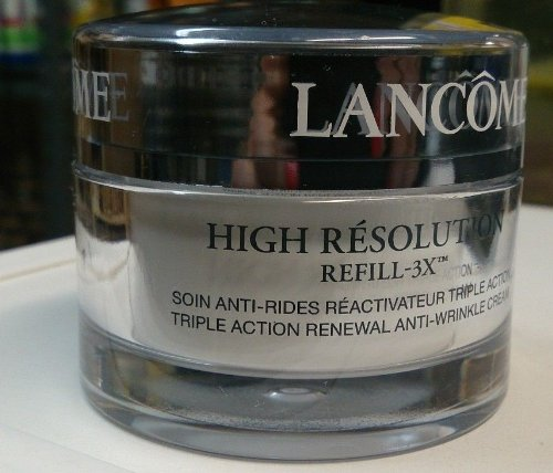 High Resolution Refill 3x Triple Action Renewal Anti-wrinkle Cream 2.6 Oz/ 75g