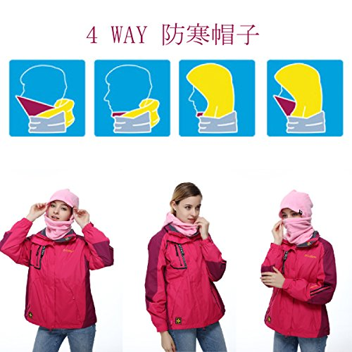 9bf967fd8 TRIWONDER Balaclava Face Mask for Cold Weather Fleece Ski Mask Neck ...