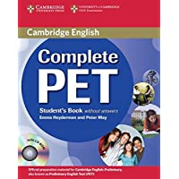 Complete PET. Student's Book without answers with CD-ROM