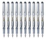 Pilot V Pen (Varsity) Disposable Fountain Pen, Fine Point, Black Ink, Value Set of 10