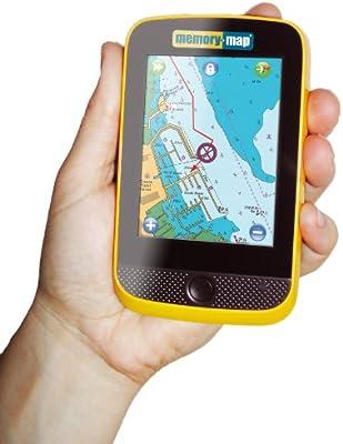 Memory-Map Adventurer 3500 GPS Plus os Mapping,Amarillo/Black Azul ...