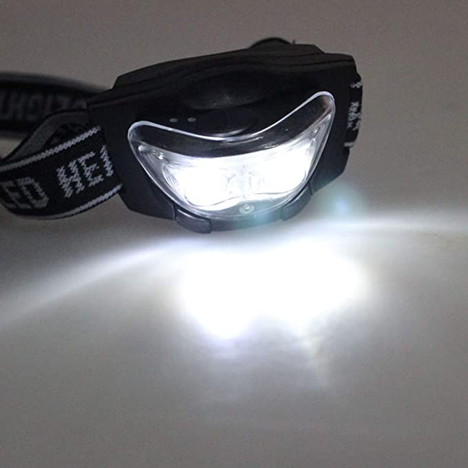 Linternas Frontables LED Alta Potencia, Yusealia Linterna Deporte al Aire Libre, 3W Lámpara de Luz de Cabeza de Linterna, Linternas Táctica para Ciclismo ...