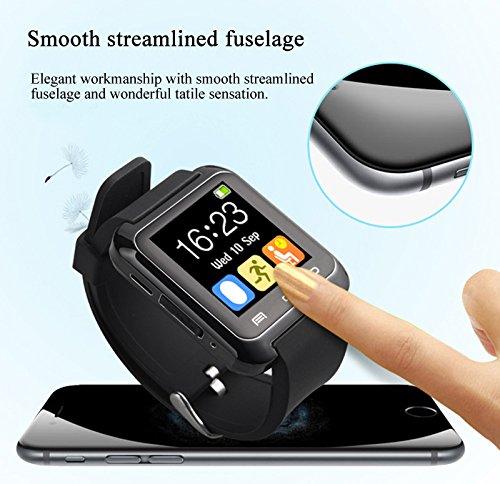 ulife-joy U80 Smart Bluetooth reloj llamada mensaje recordatorio Monitor de sueño/potable/sedentarios ...