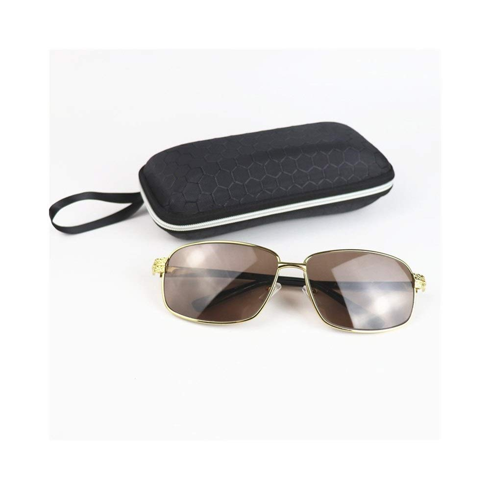 High Definition Crystal Lens Color : Black Saalising Mens Fashion Driving Windproof Sunglasses