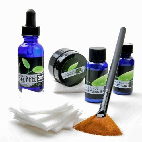 IQ Naturals: Complete acide glycolique 30% Chemical Facial Peel Kit (ensemble professionnel)