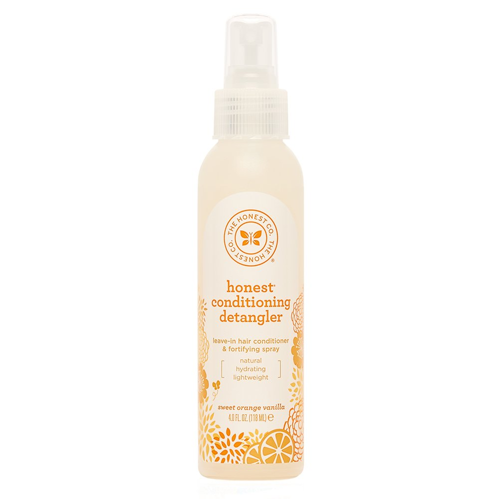 Honest Conditioning Detangler, Sweet Orange Vanilla, 4 Ounce Best Kids' Detangling Products