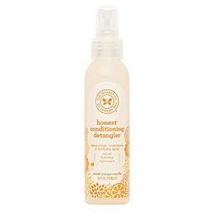 Honest Conditioning Detangler, Sweet Orange Vanilla, 4 Ounce