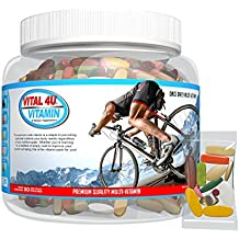 Vital 4U® Vitamin Premium Multivitamin for Men and Women, Multimineral Sports Nutrition Supplement with Joint Support, 30 Count