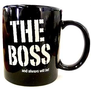Taza de desayuno en caja regalo con mensaje el jefe en for Tazas desayuno el corte ingles