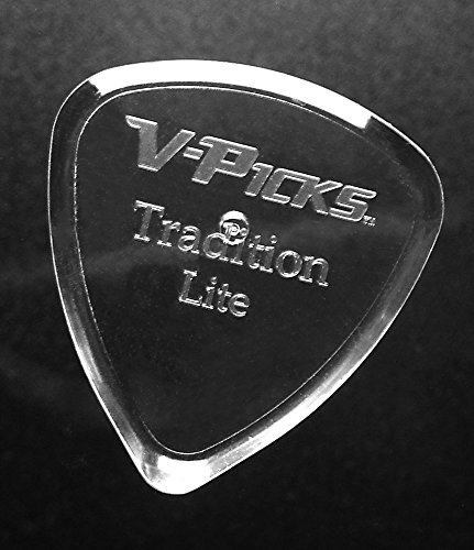 V-Picks Tradition Lite Guitar Picks (x3) TRDL w/Bonus RIS Pick (x1)