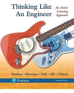 Amazon thinking like an engineer an active learning approach thinking like an engineer an active learning approach 4th edition fandeluxe Gallery