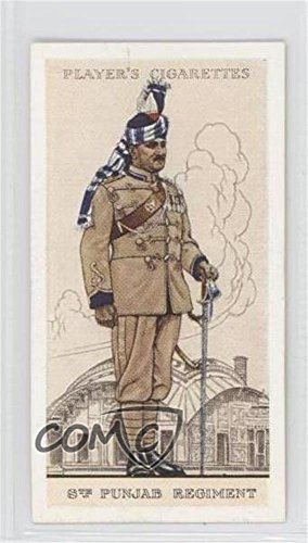 Indian Army: 8th Punjab Regiment (Trading Card) 1938 Player's Military Uniforms of the British Empire Overseas - Tobacco [Base] #21