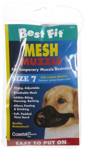 Coastal Pet Products DCP13007 Nylon Fabric Dog Muzzle, Size ()