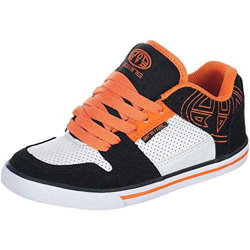 Animal Ellis Logo garçons garçons Baskets Noir/Orange