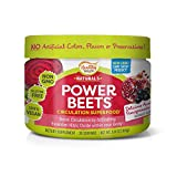 Healthy Delights Power Beets, Super Concentrated Non-GMO Beet Juice Powder, with Natural Caffeine and 0 Grams of Sugar, Delicious Acai Berry Pomegranate Flavor, 30 Servings